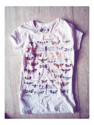 Zara Butterfly T-shirt Print