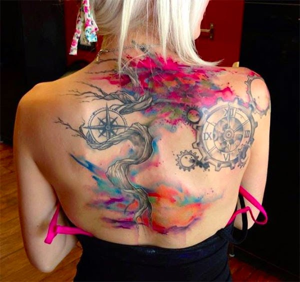 Hot Tiger, Best Tattoos Designs On UK Girl's Body