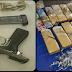 PM apreende 12 kg de maconha e pistola 9mm em Jauá