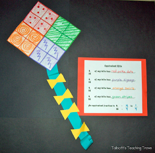 https://www.teacherspayteachers.com/Product/Equivalent-Fraction-Kite-Project-405991