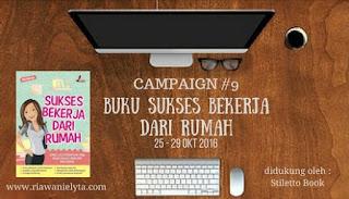 Campaign #9 Giveaway Buku Sukses Bekerja dari Rumah