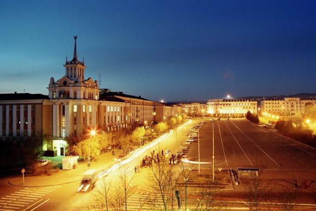 Улан-Удэ: Площадь Советов