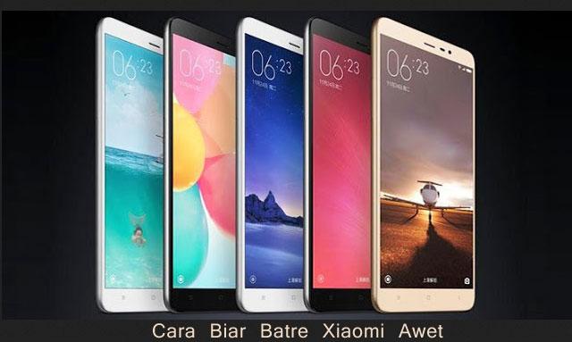 Cara Biar Batre Xiaomi Awet