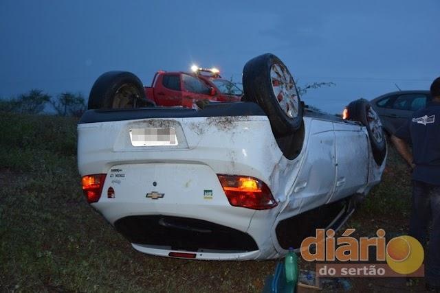 Mossoroense se envolve em acidente entre Cajazeiras e Sousa