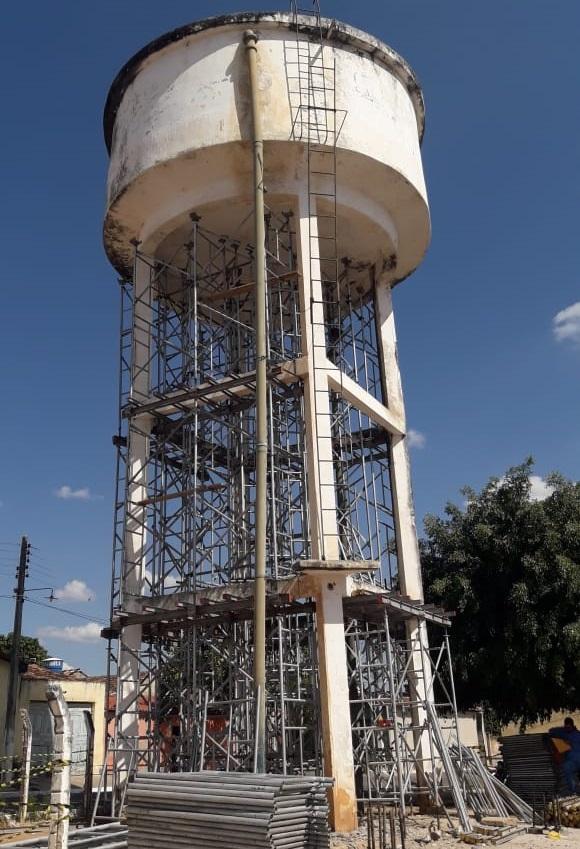 Ministério Público do Estado Ceará é acionado contra demolição da Caixa D'água de Altaneira