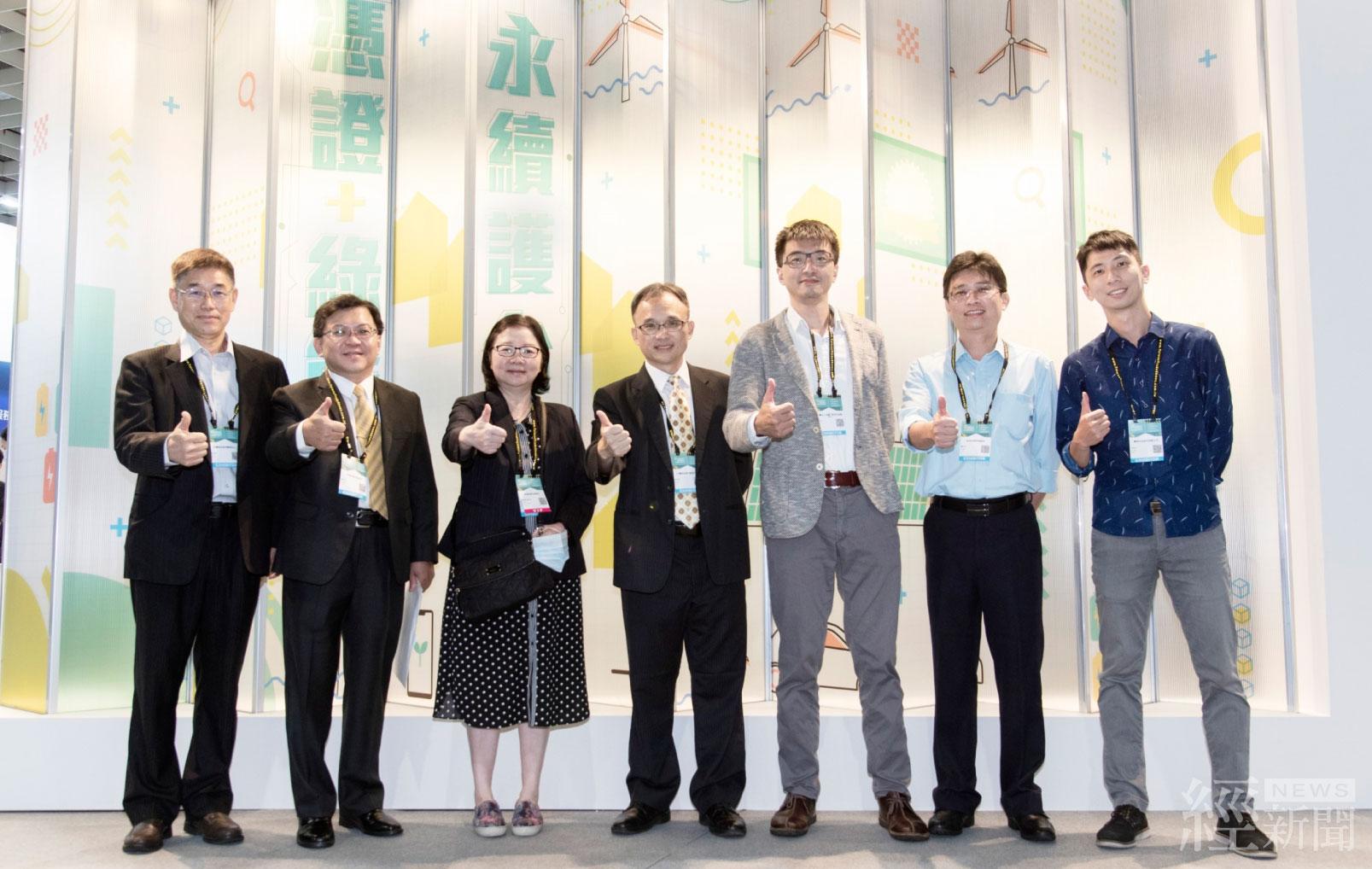 台灣國際智慧能源週登場 展現綠能及憑證推動成果