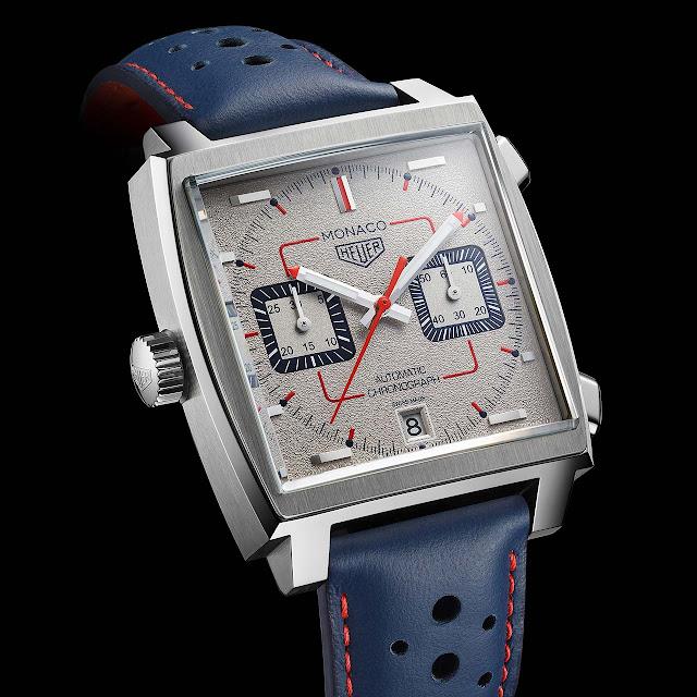 TAG Heuer Monaco Calibre 11 50th Anniversary 1990's Special Edition ref. CAW211X.FC6468