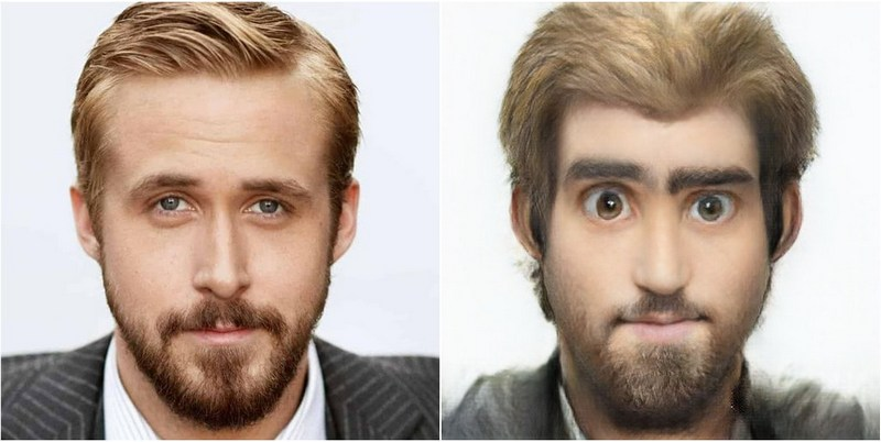 Ryan Gosling Transform into Disney characters using neural networks