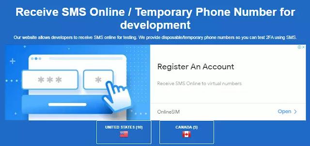 Situs Terbaik untuk Menerima SMS Online Untuk Verifikasi Akun-2