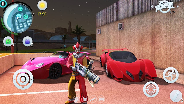Gangstar Vegas Hack Mod VIP, Unlimited Money, Diamond , Key , SP + Anti Ban cho Android