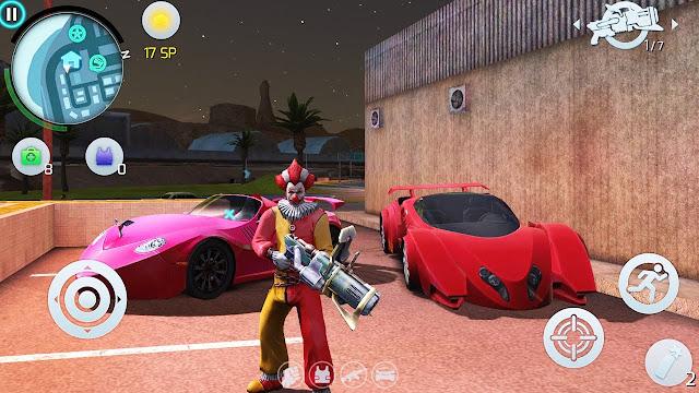 Gangstar Vegas Hack Mod VIP, Unlimited Money,Diamond , Key , SP + Anti Ban cho Android