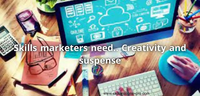 Skills marketers need