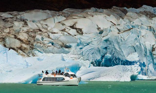 navegação no Glaciar Viedma