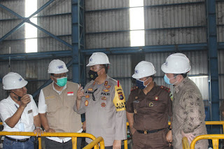 Gubernur, Kapolda dan Kajati NTB Kunjungi Pabrik Gula PT SMS Dompu
