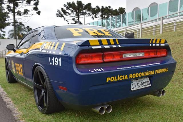 Polícia Rodoviária Federal passa a usar Dodge Challenger