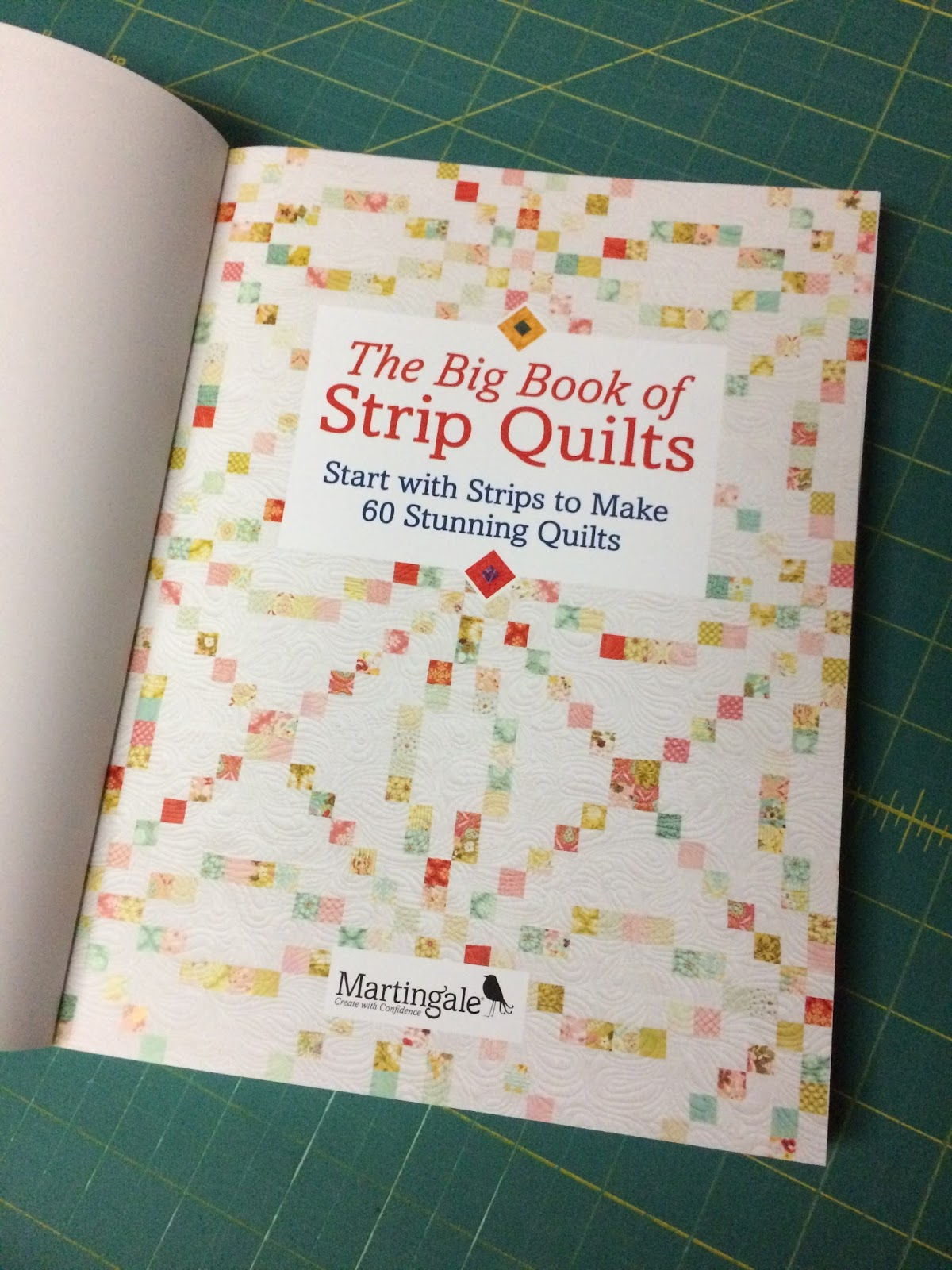 So ya, all in all, pretty amazing day when this arrived!!!! The Big Book of Strip  Quilts ...