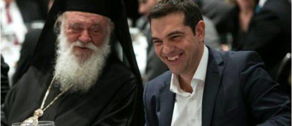 """Τσίπρας - Ιερώνυμος """"εκτελούν"""" την Ορθοδοξία"""