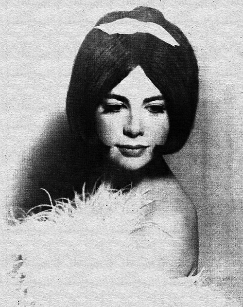 Professional femulator, New Orleans, circa 1970