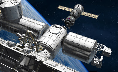 ISS is The International Space Station.