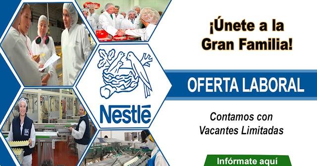 Aquí las Oportunidades Laborales que Brinda Nestlé
