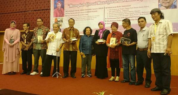 peluncuran buku sastra