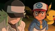 Capitulo 23 Temporada 16: ¡Ash y N: Un enfrentamiento de ideales!