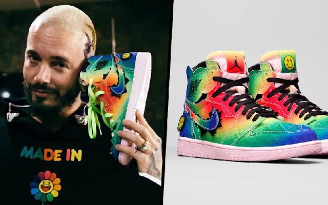Michael Jordan y J Balvin lanzan impresionante modelo de sneakers