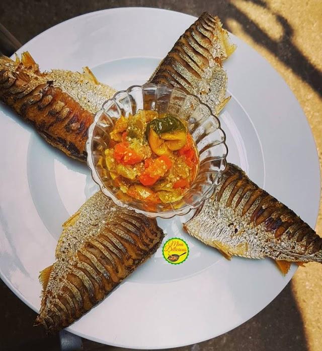Les recettes de Mina Delicious : Sardine aux aubergines