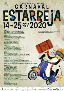 Cartaz Carnaval de Estarreja 2020