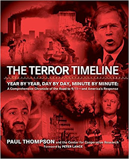 The Terror Timeline by Paul Thompson book cover