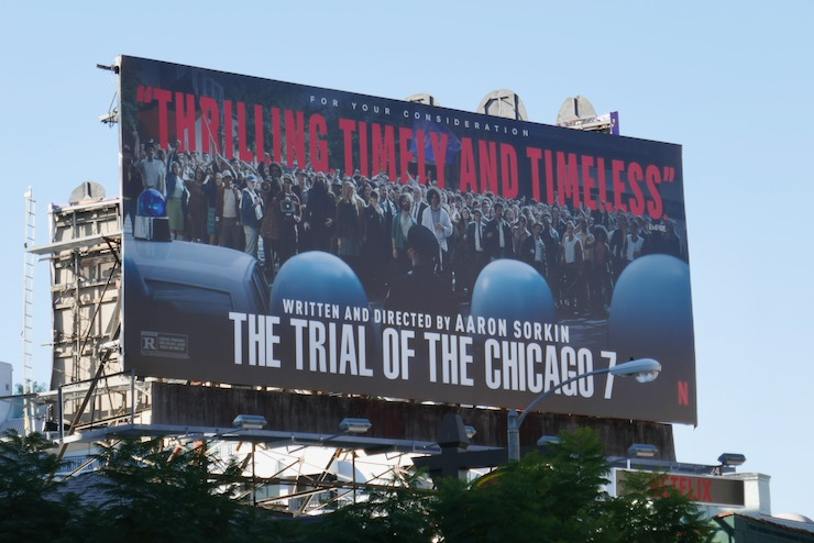 Trial of the Chicago FYC billboard