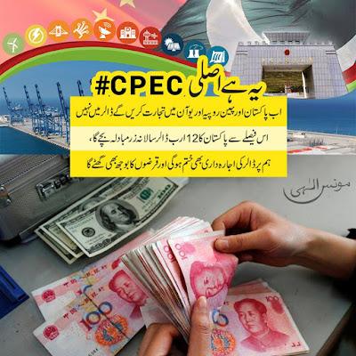 ۔اب پاکستان اور چین روپیہ اور یوآن میں تجارت کریں گے ڈالر میں نہیں
