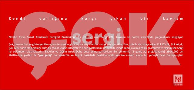 Fotoğraf Sergisi Afiş Davetiye