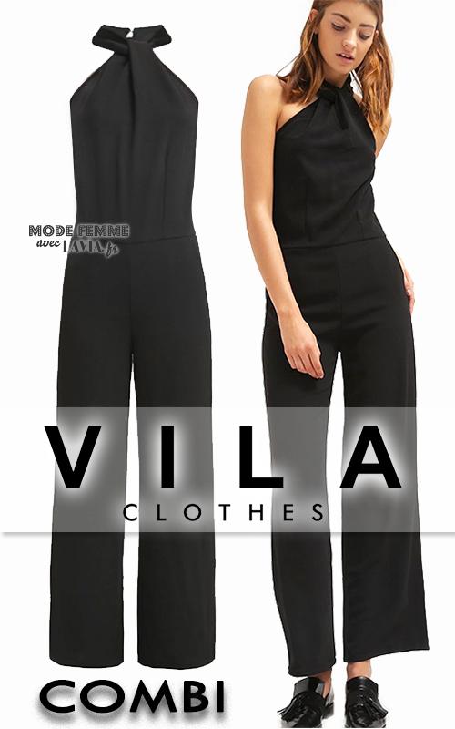 Pantalones Vila Chic Vila negros Pantalones Chic Vila Vila Pantalones Chic negros Chic negros Pantalones dhtrsQC