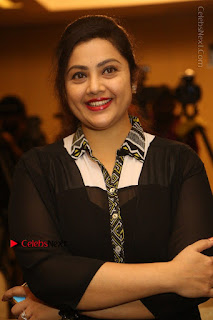 Tamil Actress Meena Latest Stills in Black Dress at TSR TV9 Awards Press Meet  0047.JPG