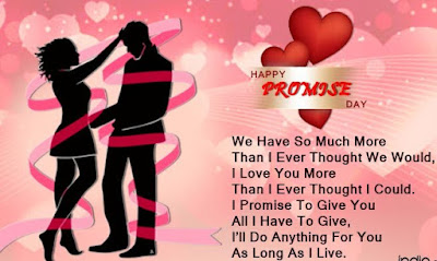 Promise Day Wishes, Messages, SMS, Greetings, Quotes and Images