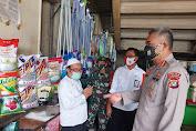 Kapolda Metro Jaya Irjen Pol Drs Nana Sudjana SH.,MH perintahkan Dirbinmas Polda Metro Jaya  turun ke Pasar
