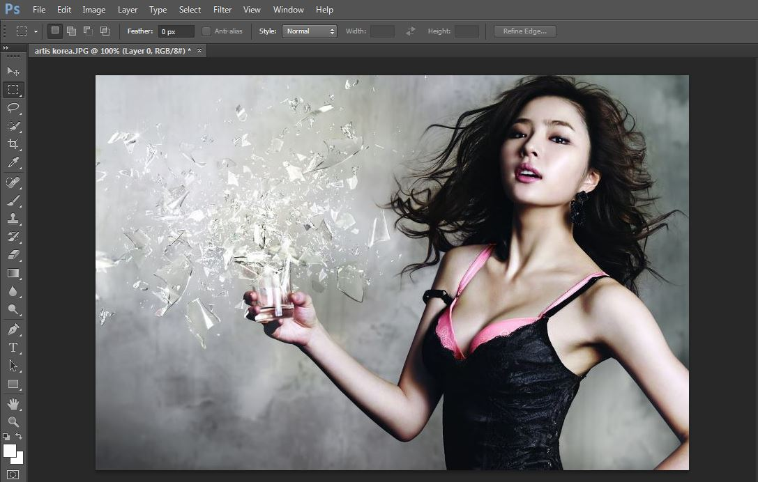 tutorial Kompres Foto Menggunakan Adobe Photoshop