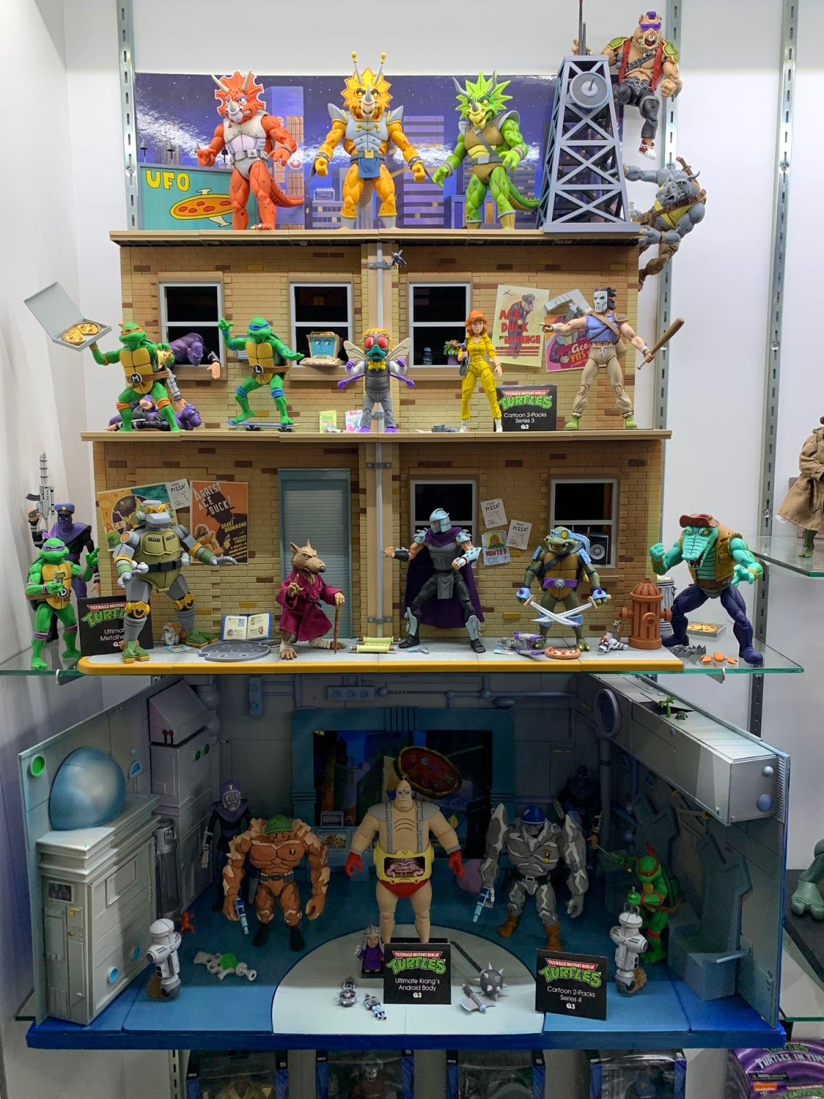 Nickalive Neca And Super7 Showcase New Tmnt Figures At Toy Fair 2020