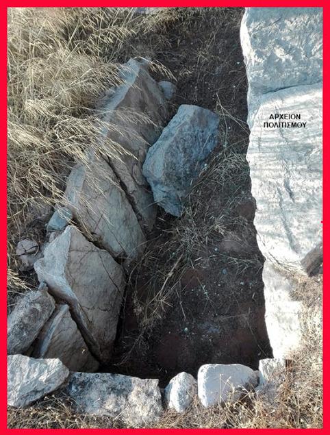 Αυτόχθονες Αμερικανοί ταφικά μέρη που χρονολογούνται