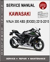 Service Manual Kawasaki
