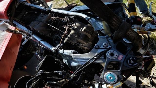 Τροχαίο δυστύχημα με οδηγό μηχανής στην Ε.Ο Κορίνθου - Τριπόλεως