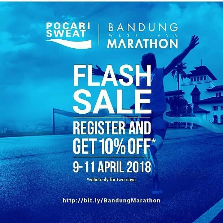 Pocari Sweat Bandung West Java Marathon • 2018