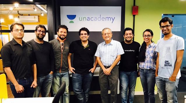 Indian Startup Success Stories unacademy