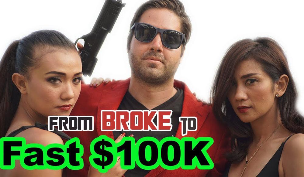 Brendan Mace: fromBroke to $100K a month.