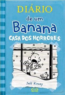 """Cabine Literaria 61 """"Diario de um Banana - Casa dos Horrores"""" #Vlog 8"""