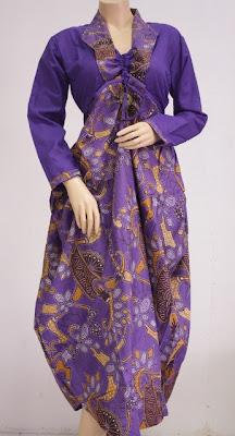 Model Baju Batik Wanita Terbaru Trend Baju Batik