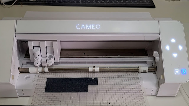 cut settings, cameo 4, HTV, silhouette cutting mat, test cut