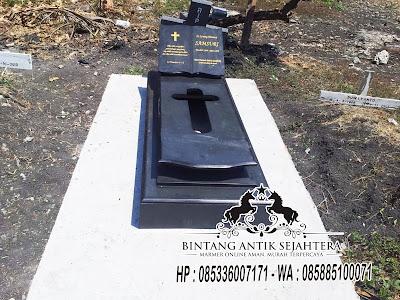 Kijing Jakartanan Granit, Model Kijing Kristen, Model Kijing Kristen