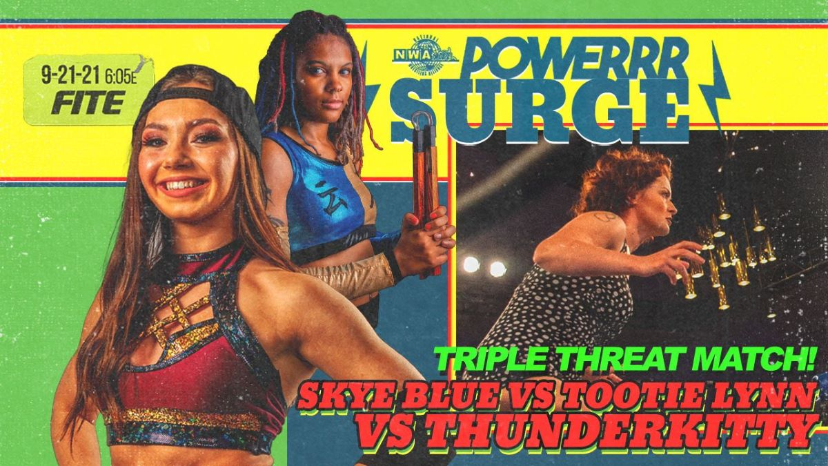 Cobertura: NWA PowerrrSurge (21/09/2021) – Eletrizante!